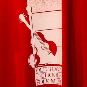 Vtg Old Town School of Folk Music Graphic T-shirt